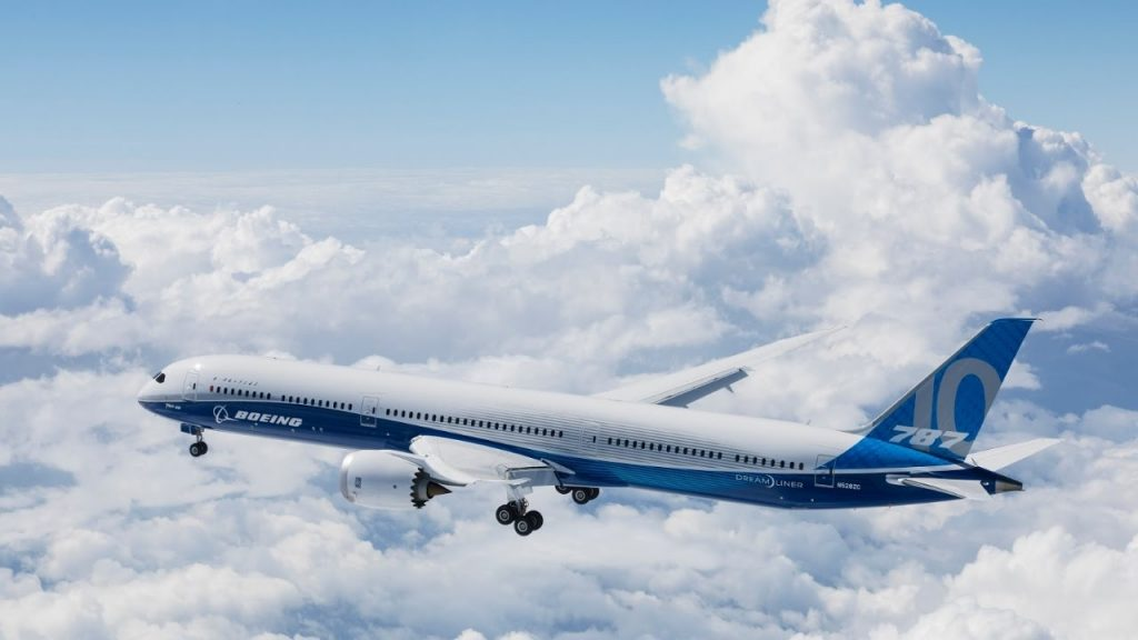 787-10 梦幻飞机